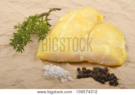 Smoked River Cobbler With Thyme, Pepper And Salt