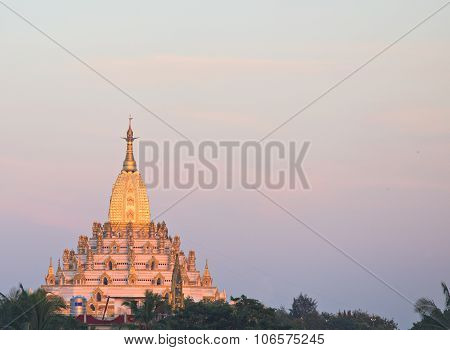 The Swal Daw Pagoda In Yangon