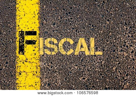 Business Acronym F As Fiscal