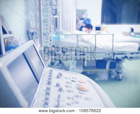 Equipment Ward Patient In The Icu