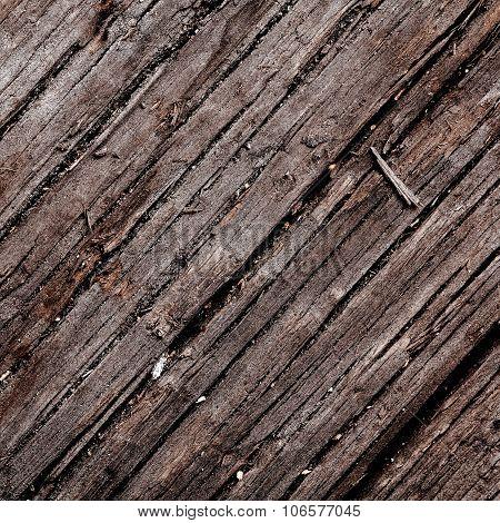 Old Damaged Wood Background Texture