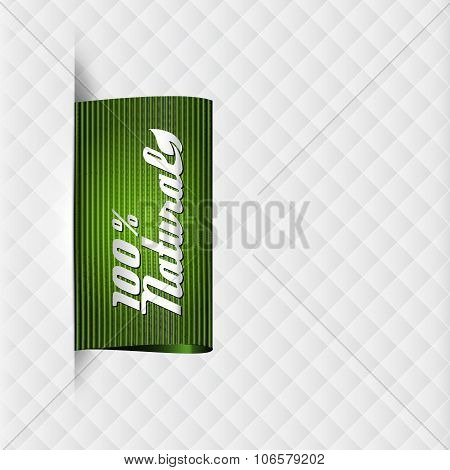 Textile Label For Natural Products