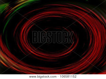 Abstract Colorful Dynamic Retro Hypnotic Spiral Swirl Background, Dark Red, Fire Tones