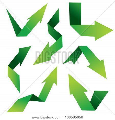 Folded Arrows