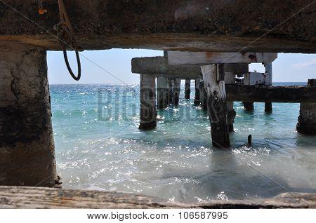 Abandoned Jetty in Jurien Bay, Western Australia
