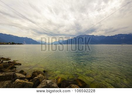 Clouds Over Lake Leman