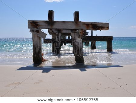 Jurien Bay Abandoned Jetty, Australia