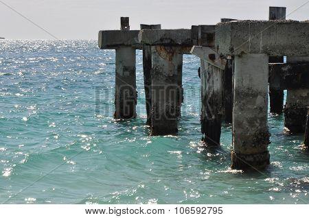 Jurien Bay Abandoned Jetty: Australia