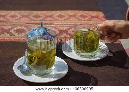 Coca Leaves Tea Known As