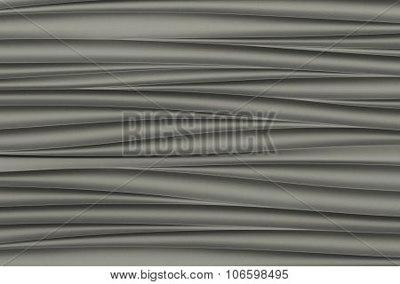 background of gray 3d abstract waves