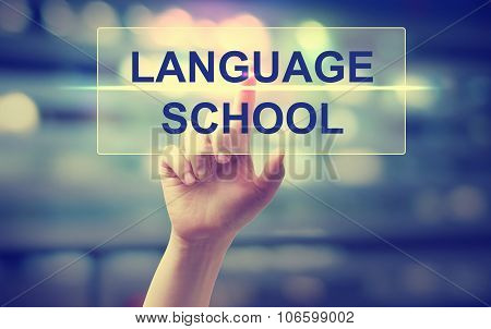 Hand Pressing Language School