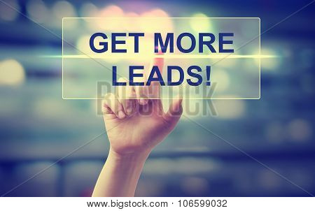 Hand Pressing Get More Leads