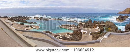 Natural Rock Pool Of Porto Moniz