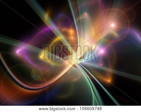 Source Of Light Trails