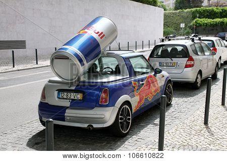 Advertising Car In Lisbon