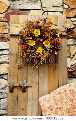 Autumn Floral Wreath