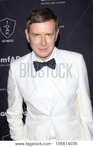 LOS ANGELES - OCT 29:  Eugene Sadovoy at the amfAR's Inspiration Gala Los Angeles - After Party at the 1OAK  on October 29, 2015 in West Hollywood, CA