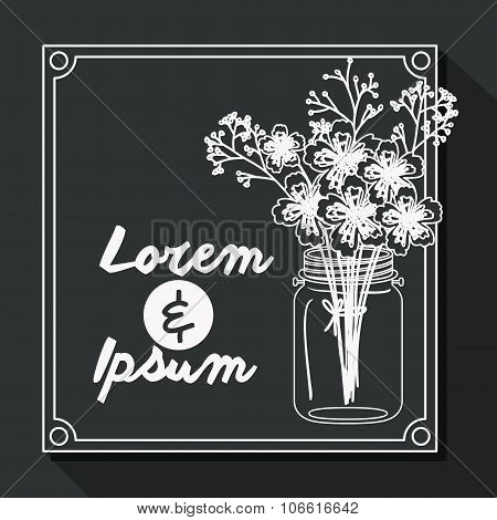 Married Invitation design , vector illustration