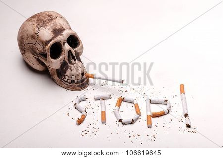 Bad nicotine is killing you every minute