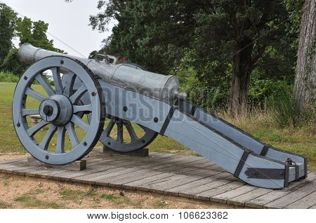 Yorktown Battlefield in Virginia