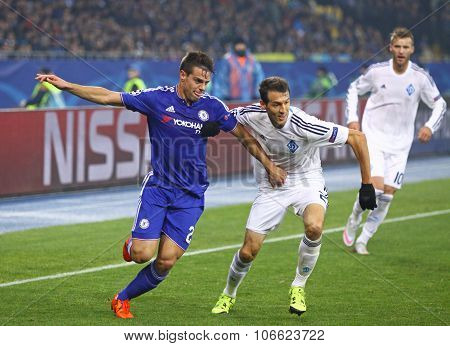 Uefa Champions League Game Fc Dynamo Kyiv Vs Chelsea