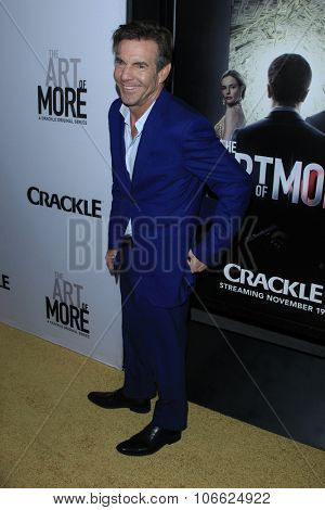 LOS ANGELES - OCT 29:  Dennis Quaid at the