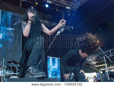 Ne Obliviscaris live at Soundwave Festival in Brisbane