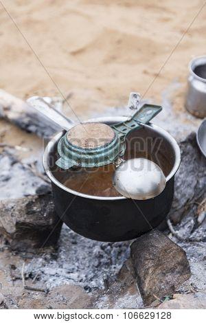 Dirty Tea Pot