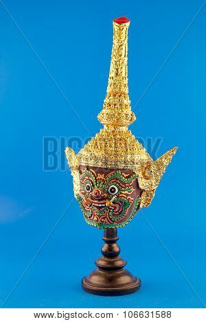 Hua Khon (thai Traditional Mask)