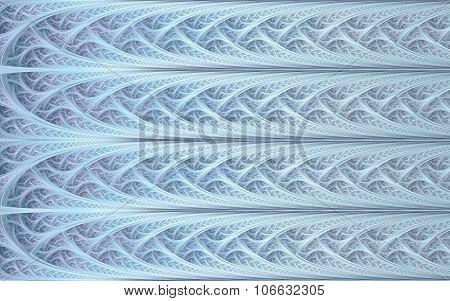Light-blue Mosaic Pattern
