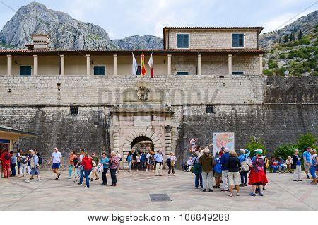 Sea (west) Gate (1555), Kotor, Montenegro