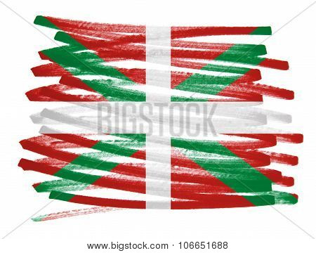 Flag Illustration - Basque Country