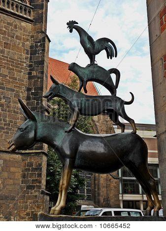 Animal stastue in Bremen