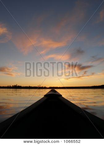 Canoeing After Sunset