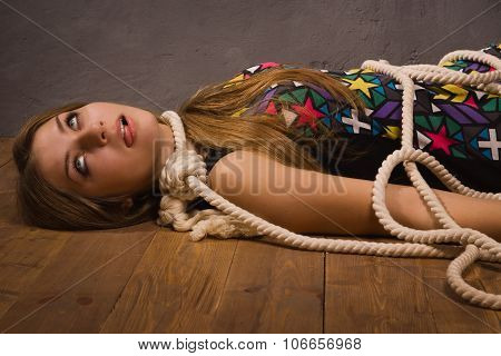 Crime Scene Simulation: Hanged Woman