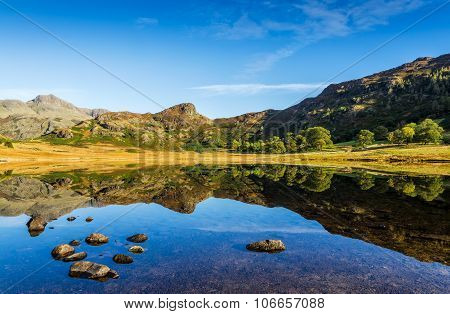 Blea Tarn in the English Lake District