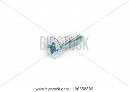 Isolated photo of bolt with white background