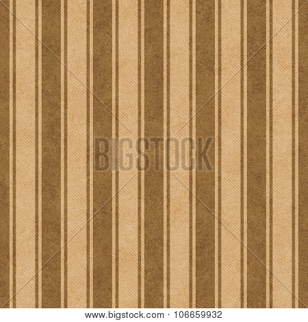 Brown And Beige Striped Tile Pattern Repeat Background