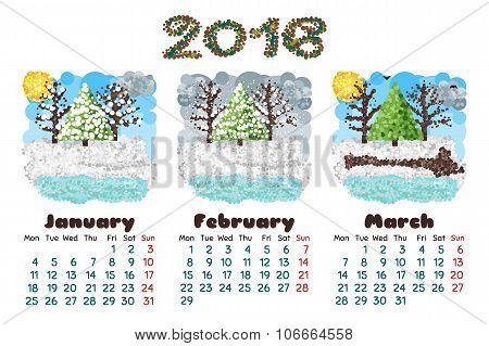 Calendar 2016-1 Nature