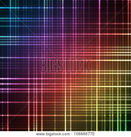 Abstract bright spectrum wallpaper. illustration.