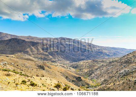 Kedros Mountains In Crete