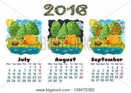 Calendar 2016-3 Nature