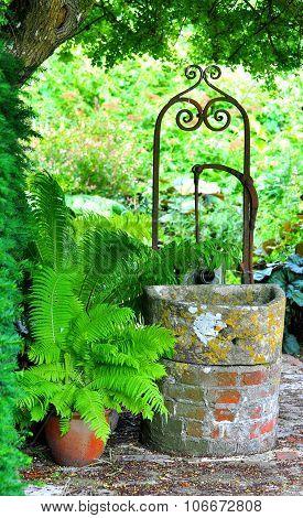 Old Garden Water Pump