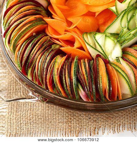 salad  cucumber Beetroot Carrot sliced