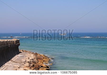seafront of Tel-Aviv,Israel