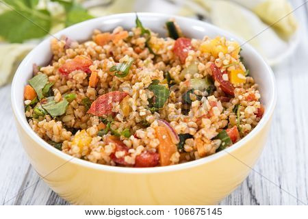 Fresh Made Bulgur Salad