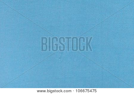 blue fabric textile texture for background