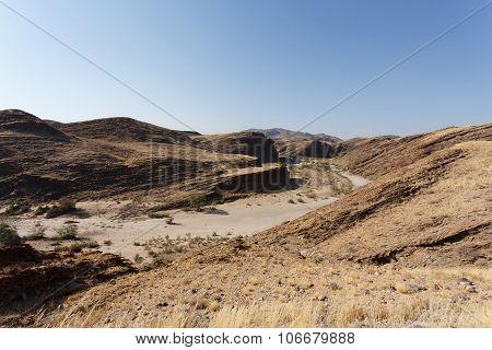 Fantrastic Namibia Moonscape Landscape