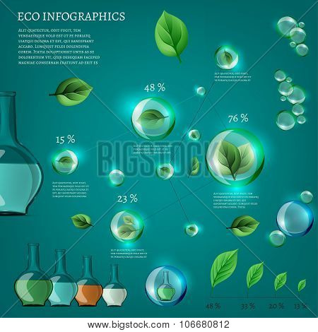 bio infographics illustration