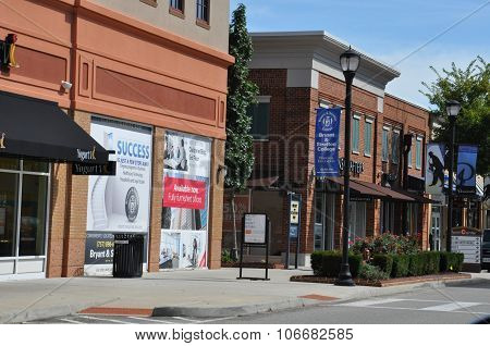 Peninsula Town Center in Hampton, Virginia